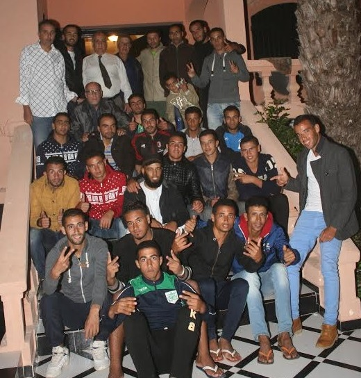 فريق نهضة سيدي عابد يحتفل بالصعود للبطولة الجهوية