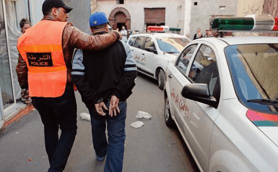 مطاردة أمنية في وسط الجديدة تنتهي باعتقال 'بزناز' هاجم عناصر الامن بغاز 'لاكريموجين' والسلاح الابيض