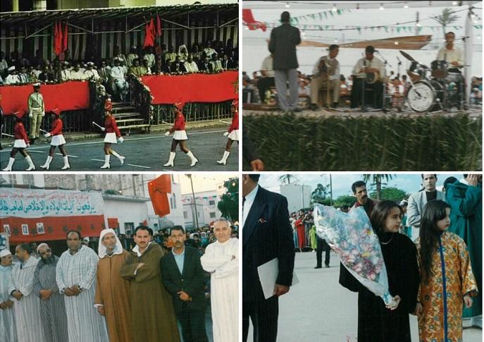 استرجاع ذكريات خالدة من احتفالات مدينة الجديدة بعيد العرش