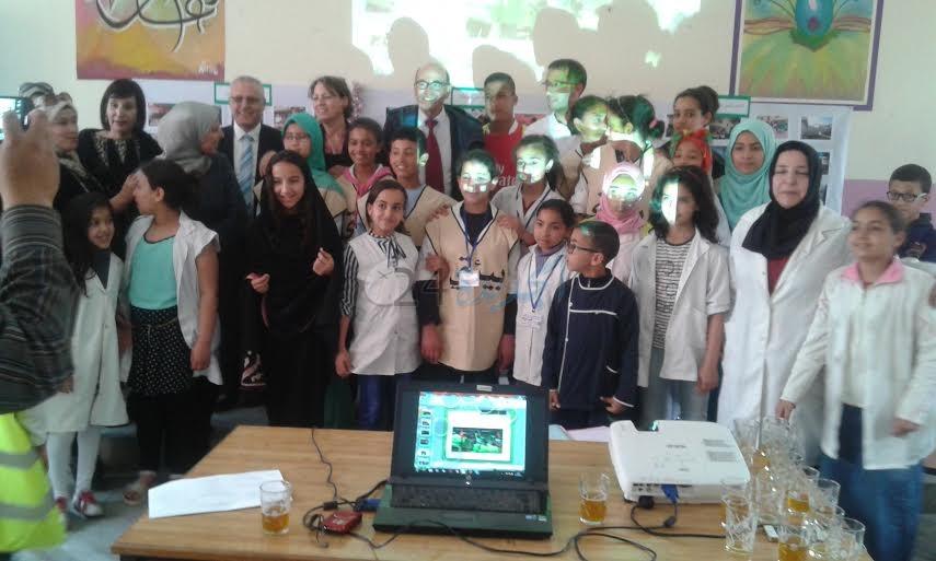 مؤسسة محمد السادس  تزور المدارس الإيكولوجية المرشحة لنيل اللواء الأخضر بسيدي بنور