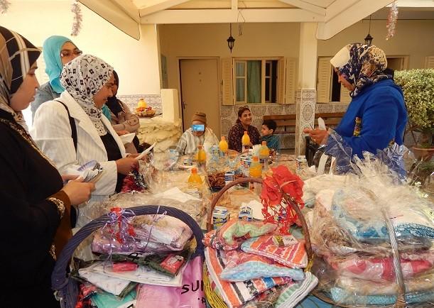 مجموعة مدارس المبادرة الخاصة بالجديدة في زيارة خيرية لدار المسنين