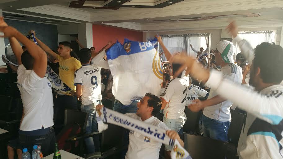 بالصور والفيديو.. هكذا احتفل ''رياليو'' الجديدة بفوز ريال مدريد بدوري أبطال أوربا