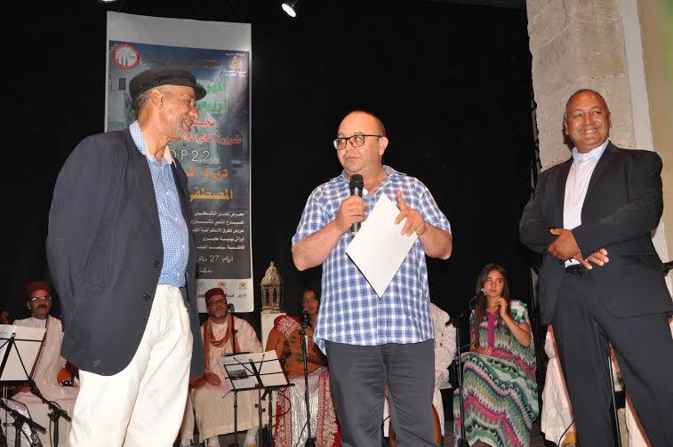 تكريم المحامي بهيئة الجديدة سامي سلمان في افتتاح المهرجان الربيعي للحي البرتغالي