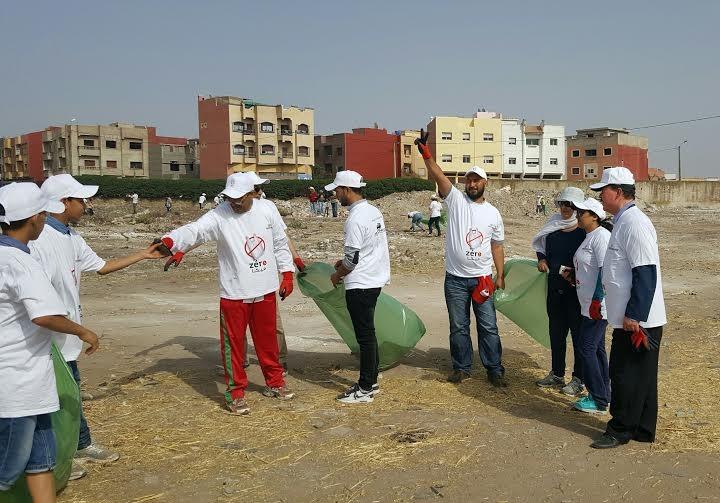 بالصور.. انطلاق الحملة الوطنية لجمع النفايات البلاستيكية من البئر الجديد بمشاركة أزيد من 100 جمعية مغربية