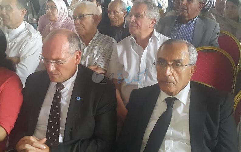 المندوب السامي للمقاومة يترأس حفل تأبين المقاوم الشريف سيدي محمد قاسمي بالجديدة