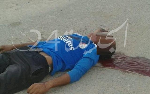 عاجل وبالصورة.. مقتل شاب رميا بالرصاص من طرف مجهولين بضواحي الجديدة