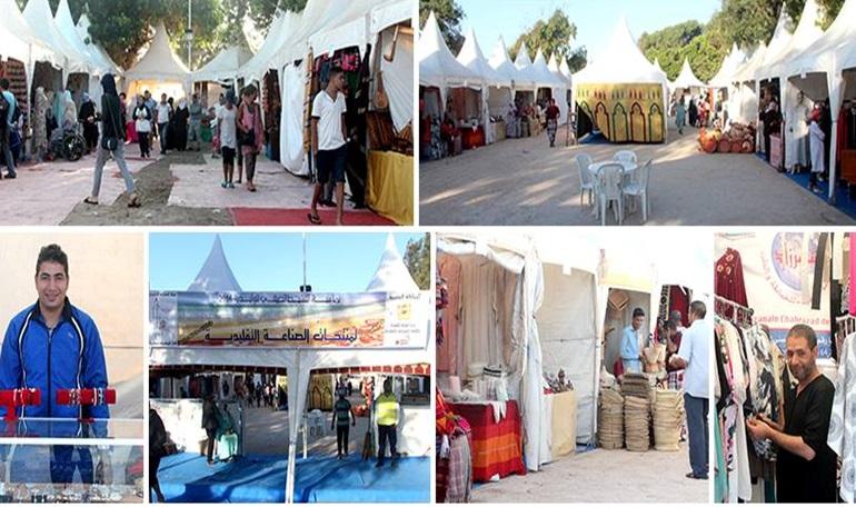 افتتاح معرض منتجات الصناعة التقليدية بمدينة الوليدية الممتد الى غاية 14 غشت