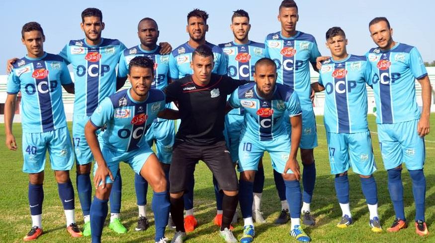 الدفاع الجديدي يحط الرحال بمدينة طنجة في أول مواجهة رسمية له في البطولة