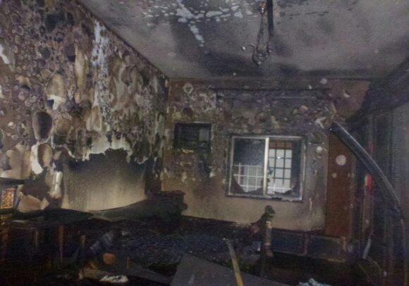 شاحن هاتف نقال يتسبب في حريق مهول بمدينة الجديدة