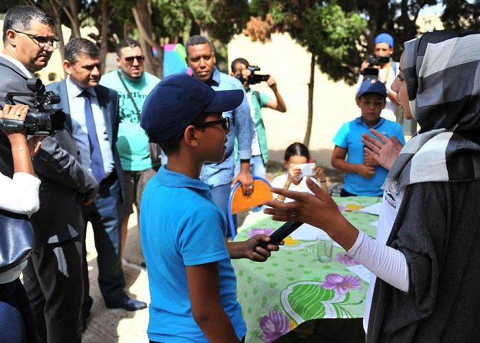 الجديدة: ''العمران'' تختتم عمليتها الكبرى للمخيمات الصيفية لفائدة أطفال الصفيح