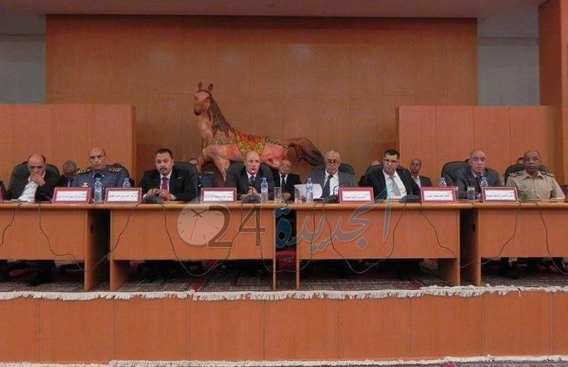 عامل الإقليم والوكيل العام يجتمعان بوكلاء اللوائح المرشحة للإنتخابات التشريعية بالجديدة