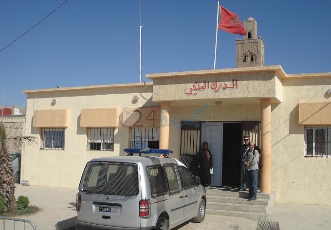 مجرم ينشر في العالم الأزرق ''فيديو'' يتهدد فيه بتصفية قائد درك مركز مولاي عبد الله