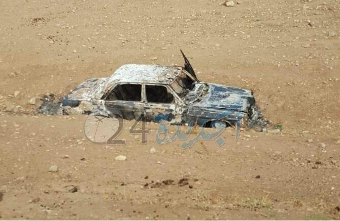 العثور على سيارة مجهولة الهوية محترقة قرب بولعوان يستنفر الدرك الملكي بالجديدة