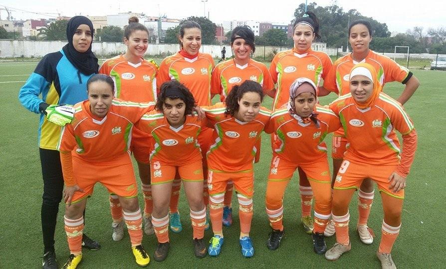 الدفاع الحسني الجديدي النسوي مهدد بعدم لعب مباراة كأس العرش