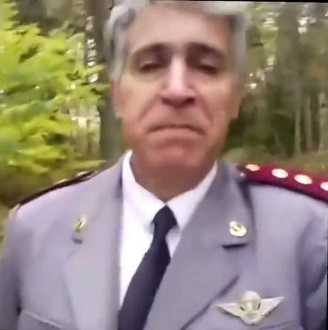 شارة ال''بارشتيست'' تفضح زيف مزاعم الطبيب العسكري ''الحارك'' للسويد