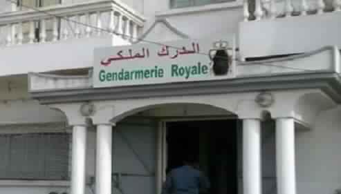 درك أولاد غانم يشن حملات  لمحاربة الجريمة بمنطقة نفوذه الترابي