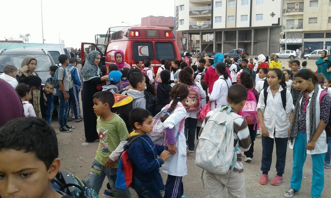 إحراق متلاشيات يتسبب في اختناق تلاميذ مدرسة عبد المومن بالجديدة