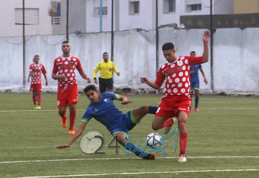 البطولة الجهوية: الشباب الجديدي يستمر في هدر النقاط. وريال مولاي عبد الله  يتعادل ووفاق أسفي يواصل التألق