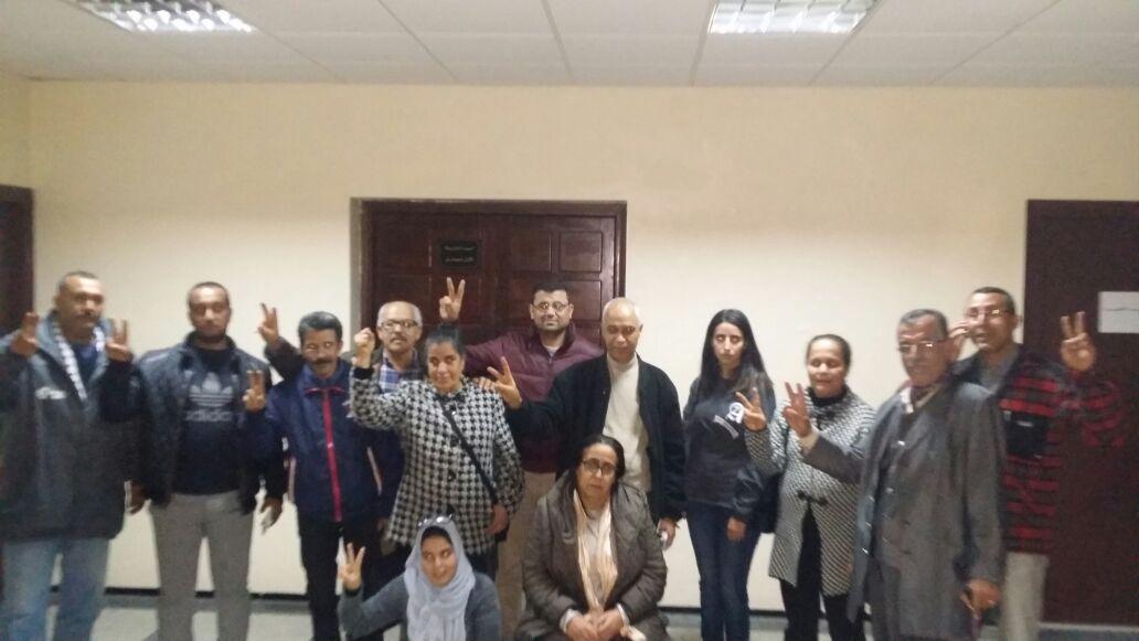 الجمعية المغربية لحقوق الانسان بالجديدة تخوض اعتصاما مفتوحا داخل مقر البلدية