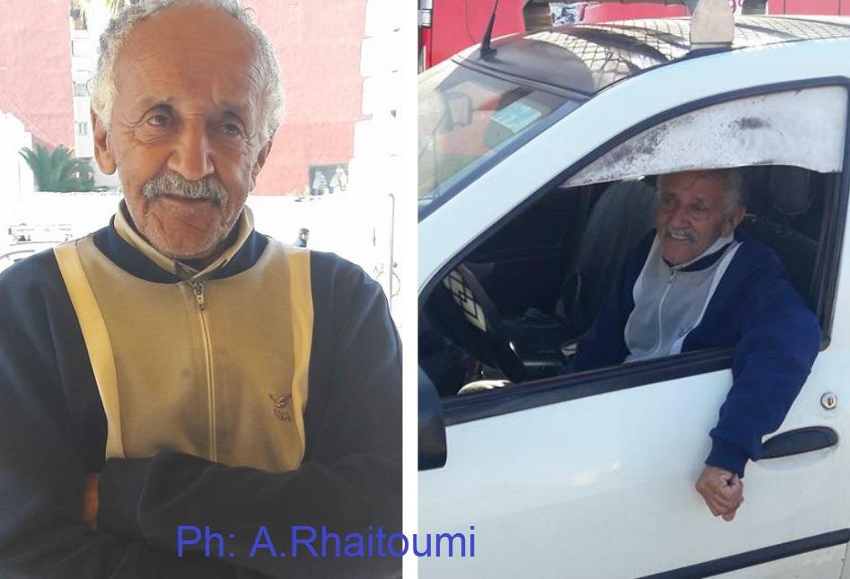 أحمد بنحليمة.. أقدم سائق طاكسي بالجديدة على مدى أزيد من 50 سنة
