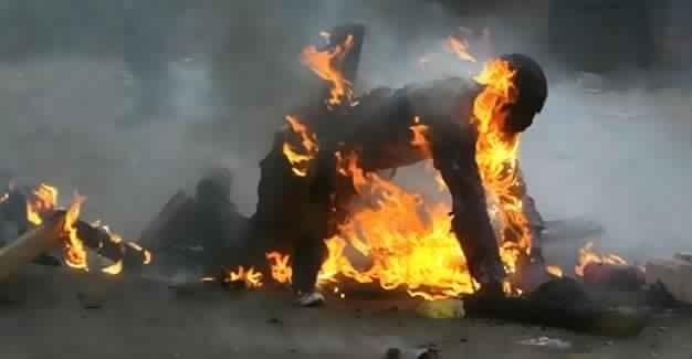 عاجل .. مصرع شاب أضرم النار في جسده بتراب إقليم الجديدة