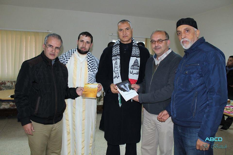 ثانوية عقبة بن نافع بالبئر الجديد تخلق الحدث باستضافة كاتبين من دولة فلسطين