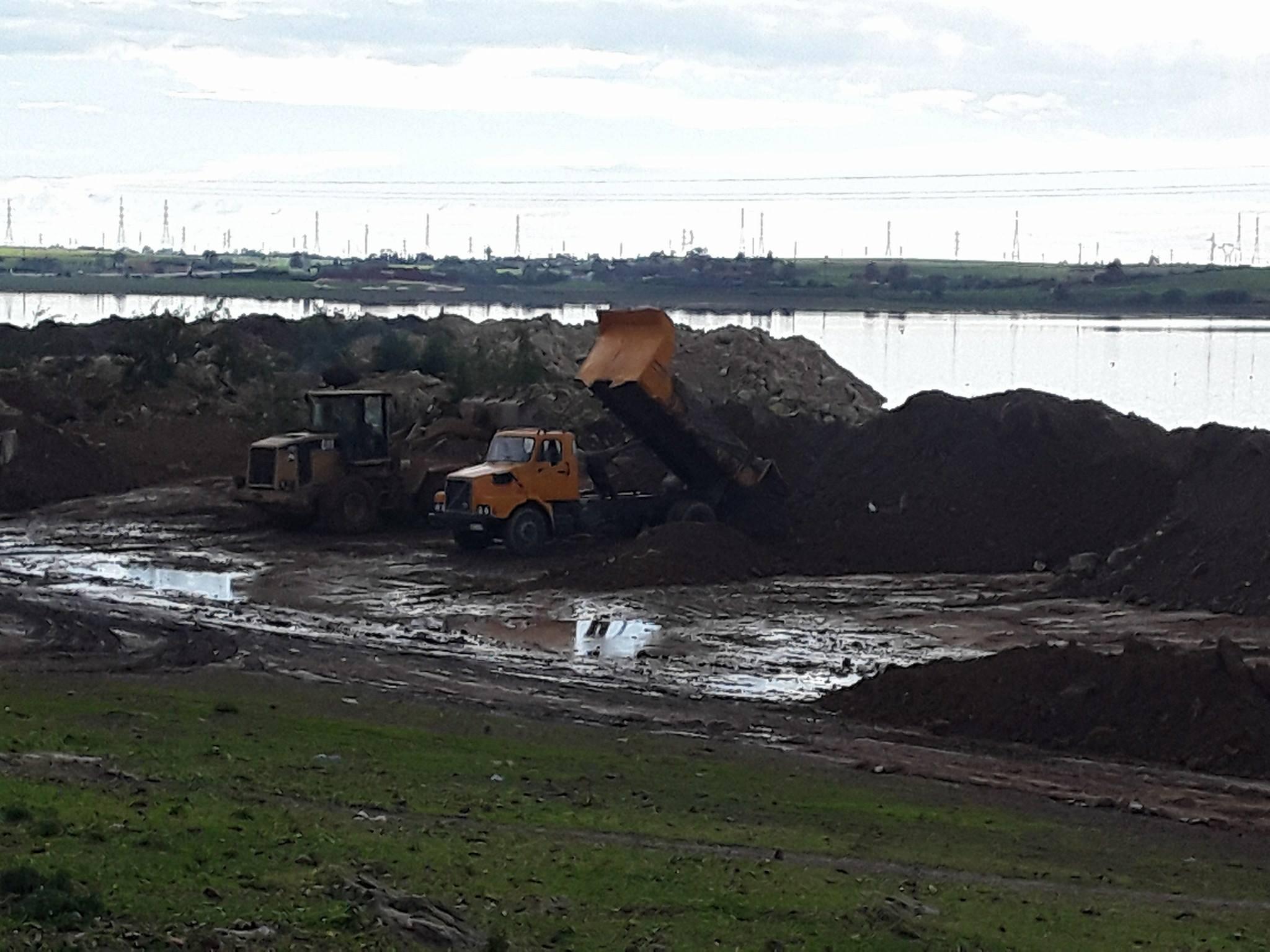كارثة بيئية ..  ردم ''ضاية الفحص'' يهدد الجديدة بفيضانات ''واد فليفل''
