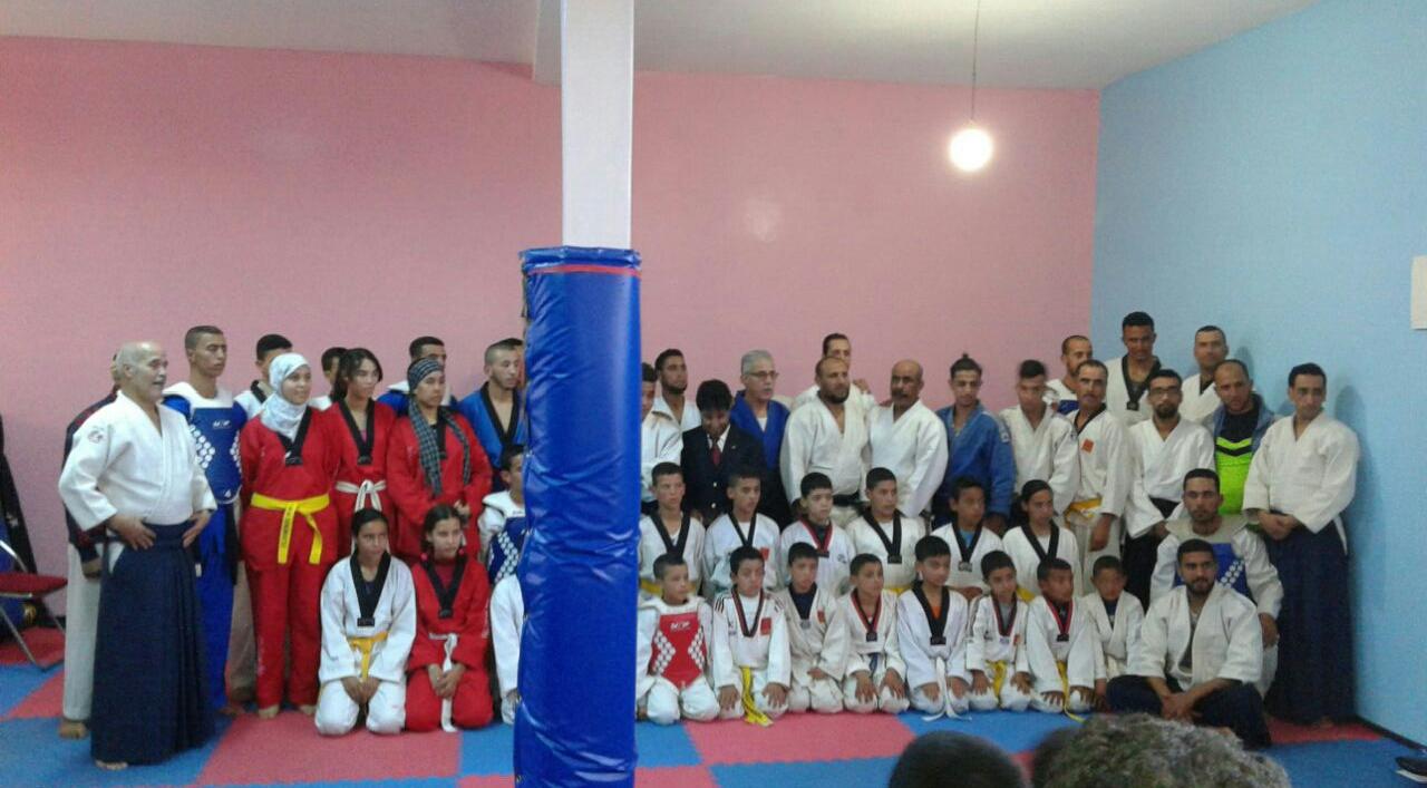 جمعية محلية تفتتح قاعة رياضية بتراب جماعة بولعوان