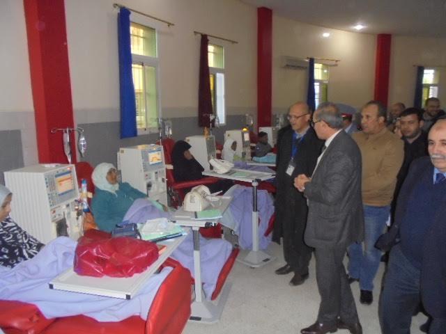 عامل إقليم سيدي بنور  في زيارة انسانية لمركز تصفية الدم بالزمامرة