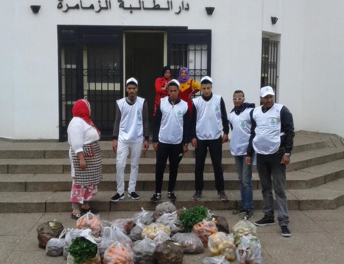 جمعية ''مدينتي'' تدشن أول أنشطتها الاجتماعية بدار الطالبة بالزمامرة