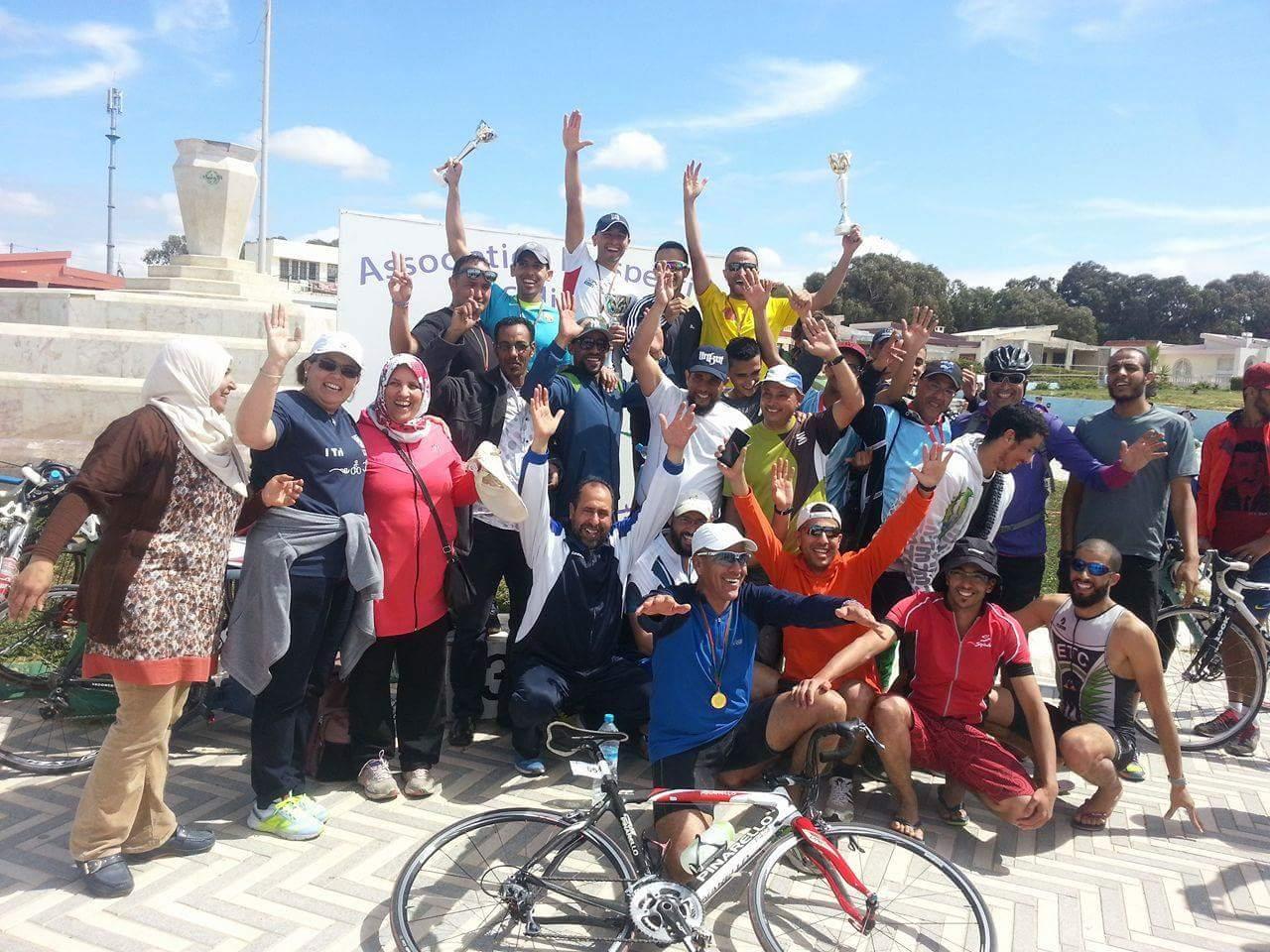 تنظيم سباق وطني في رياضة الترياثلون بمنتجع سيدي بوزيد