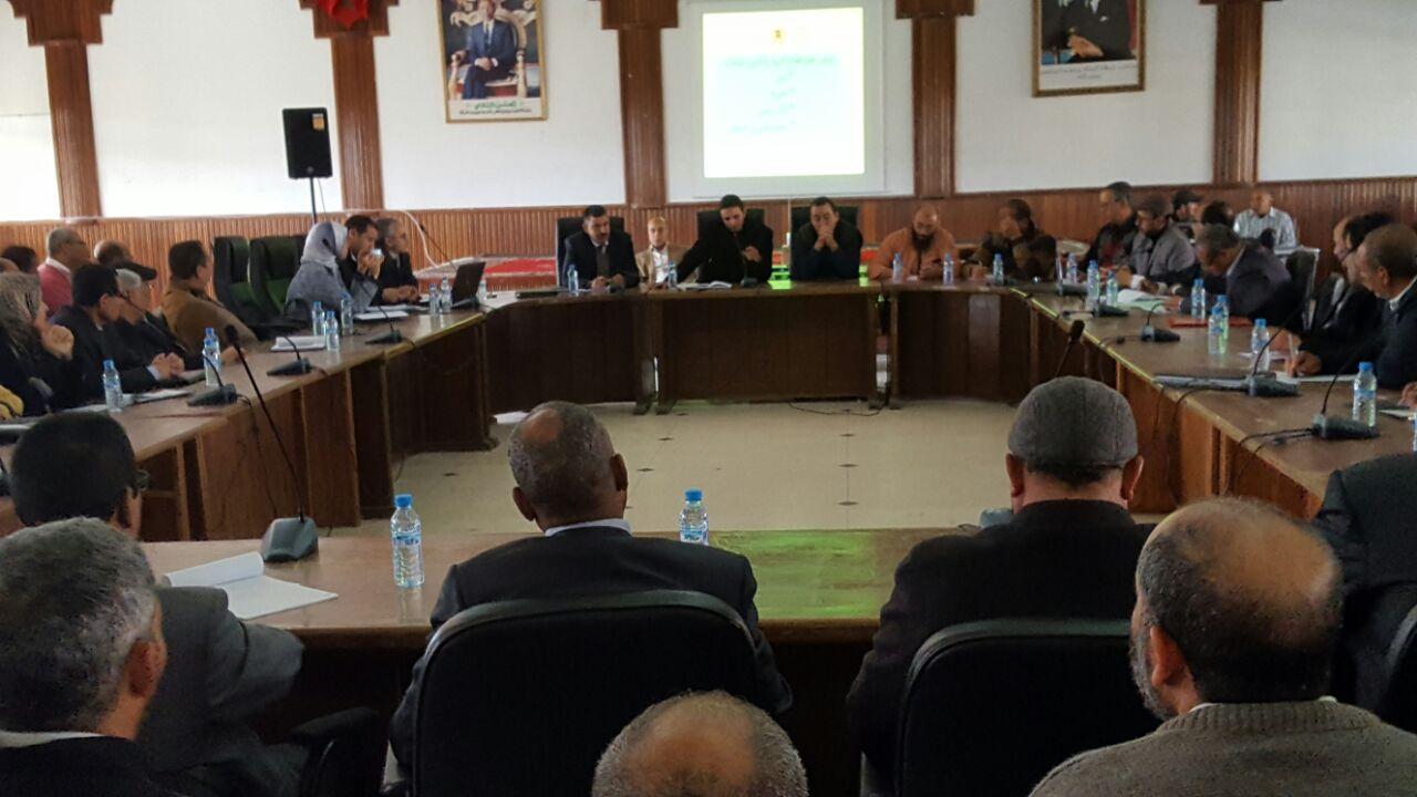 مديرية التعليم بالجديدة تواصل لقاءاتها التواصلية مع رؤساء الجماعات بالإقليم