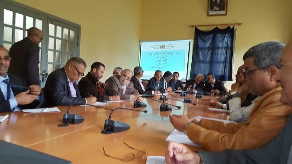 اللقاءات التواصلية لمديرية التعليم مع رؤساء الجماعات باقليم الجديدة تصل الى المحطة الرابعة