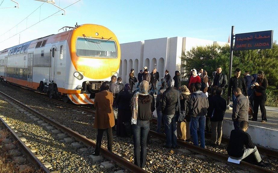 قطار المسافرين القادم من البيضاء إلى الجديدة يخلف موعده ب60 دقيقة