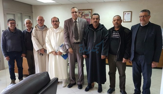 جمعية المنعشين العقاريين والمقاولين بالجديدة تعقد لقاء مع مدير الوكالة الحضرية