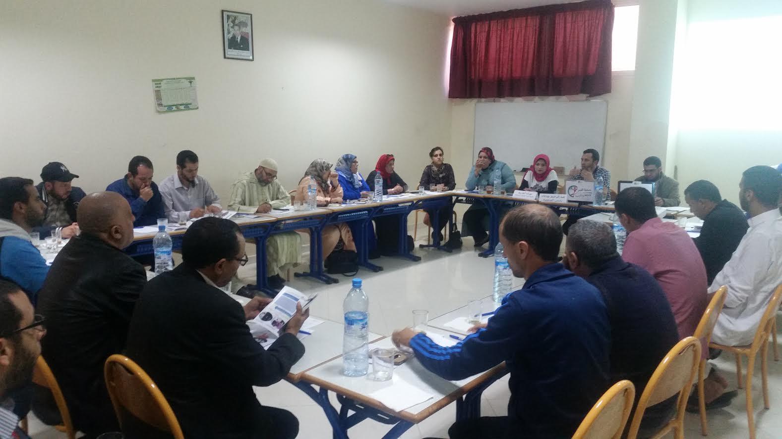 لقاء تواصلي مع منخرطي و متعاطفي جمعية الثقافة والتنمية بالجديدة