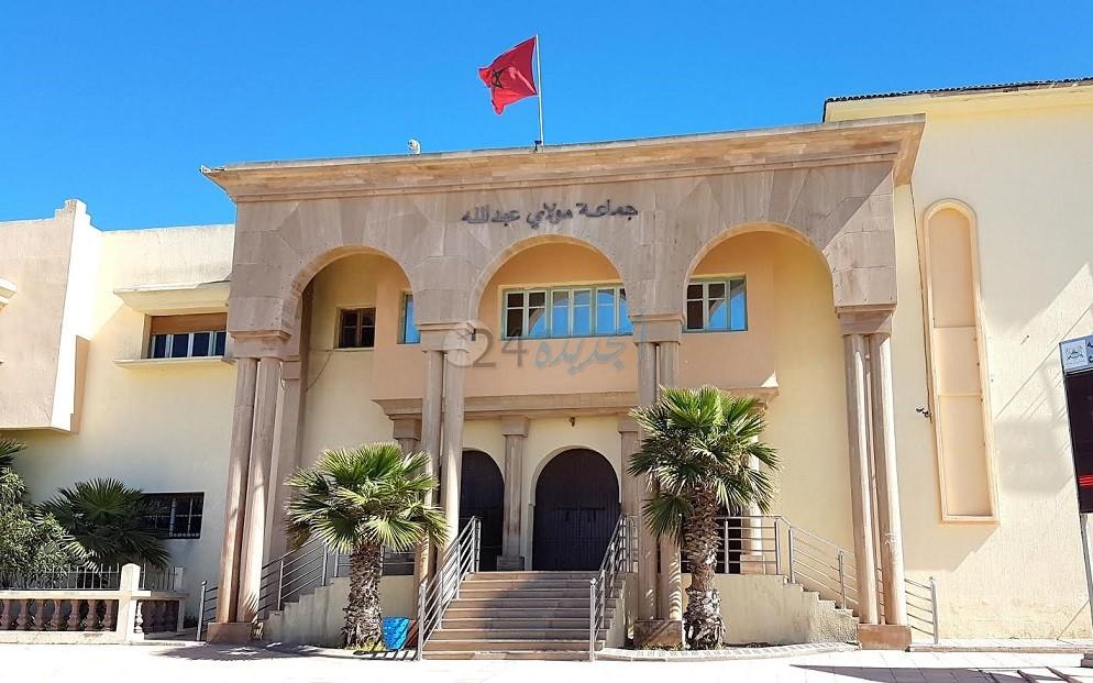 لجنة إقليمية مختلطة تتفقد الهبة الملكية السامية المودعة بضريح مولاي عبد الله أمغار
