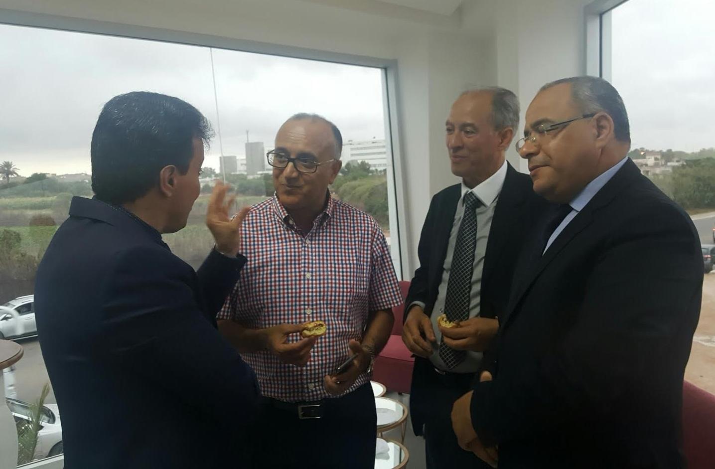 بالصور.. باشا الجديدة يشرف على تدشين المقر الجديد لمختبر التحليلات الطبية بنشكشو