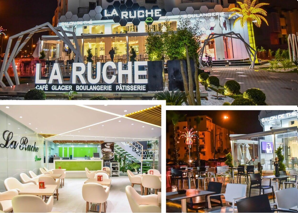 بالصور.. افتتاح مقهي ومخبزة ''La Ruche Doreé'' بمواصفات عالية الجودة بالجديدة