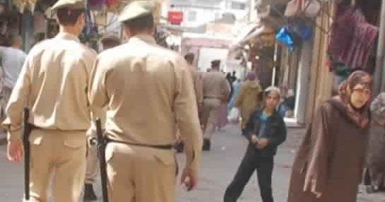 القوات المساعدة تحبط سرقة في الشارع العام بالجديدة
