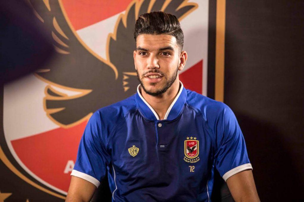 اللاعب الدولي وليد أزارو يحل بالقاهرة من أجل اجراء الفحوصات الطبية