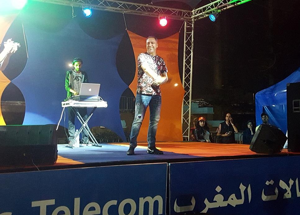 موس ماهر يجذب أزيد من 10 آلاف متفرج في ثالث سهرات 'اتصالات المغرب' بالجديدة
