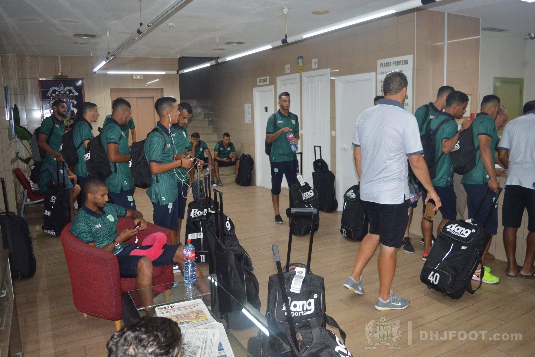 منع اللاعبين الأفارقة في صفوف الدفاع الحسني الجديدي من دخول مليلية المحتلة