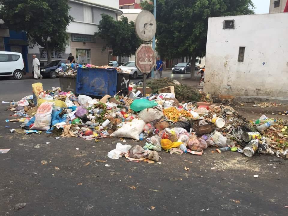 فيدرالية جمعيات الاحياء السكنية بالجديدة تصدر بيانا حول تدهور قطاع النظافة