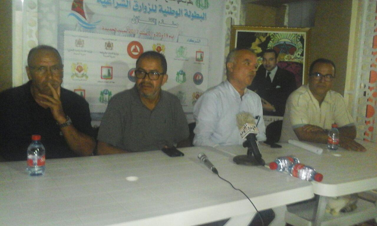 الجديدة تحتضن البطولة الوطنية للزوارق الشراعية تخليدا لعيد الشباب المجيد.