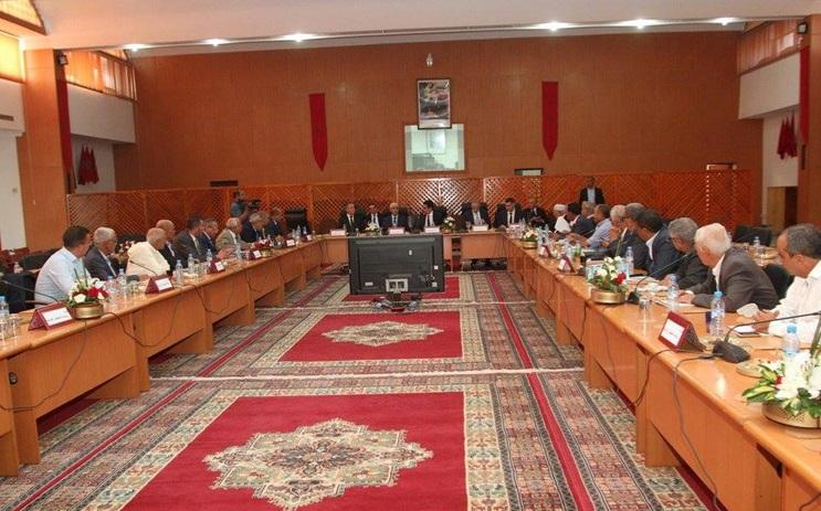 رؤساء الجماعات باقليم الجديدة يستعرضون امام وزير الشباب والرياضة واقع القطاع بالاقليم