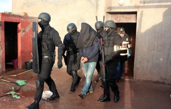 اعتقال مشتبه به في الانتماء لاحدى التنظيمات الارهابية بسيدي بنور