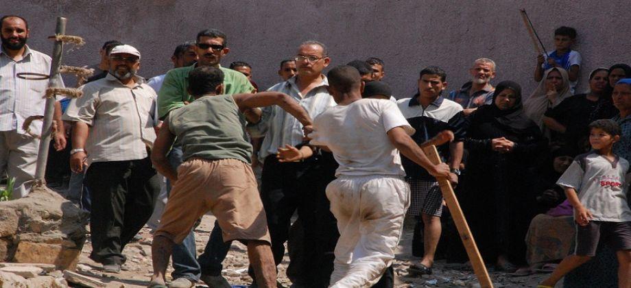 إصابة أربعة أشخاص في شجار دامي بين عائلتين بإقليم سيدي بنور