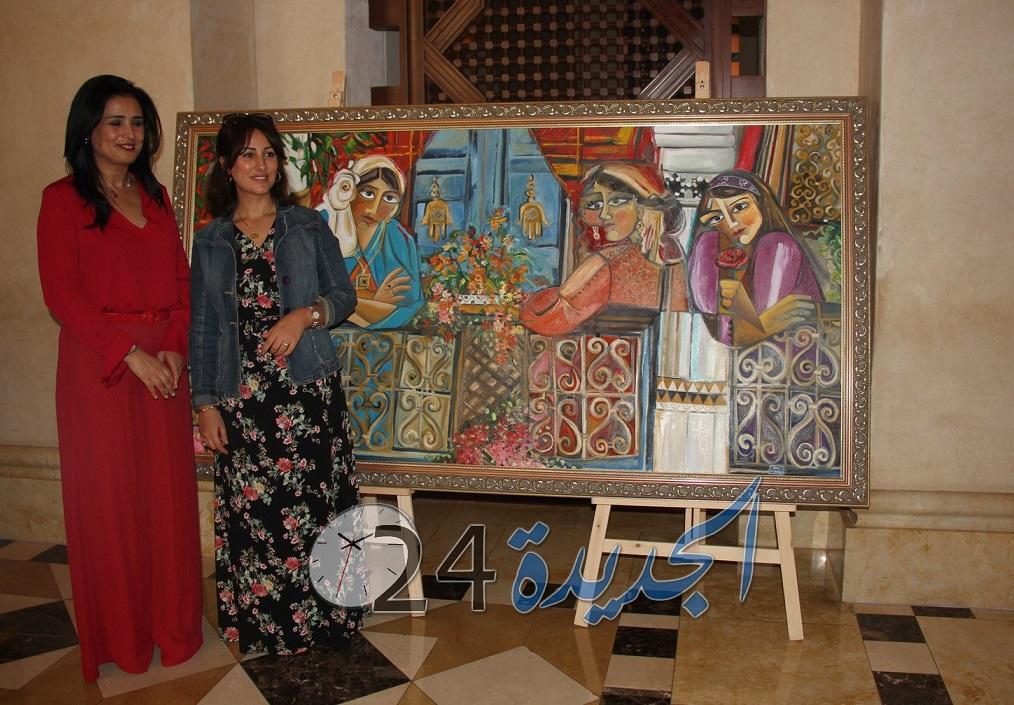 منتجع مازغان يحتضن المعرض التشكيلي للفنانة هند الاموي + فيديو