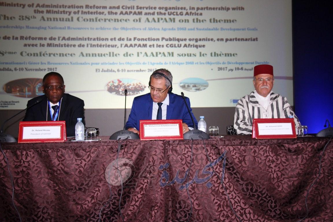 الجديدة: اختتام أشغال المؤتمر السنوي 38 للجمعية الإفريقية للإدارة العامة والتدبير